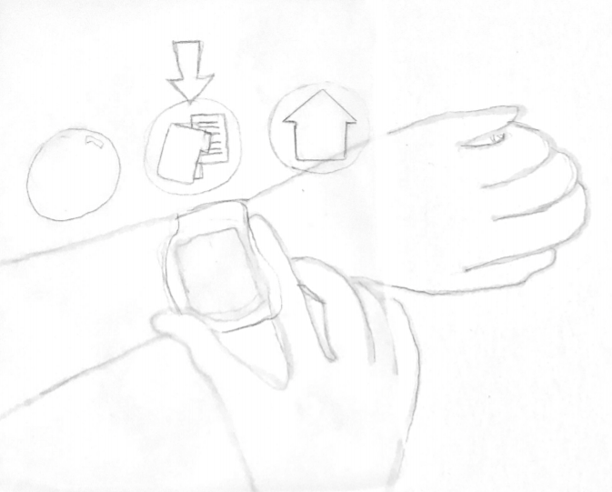 Wrist Watch UI